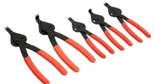 ExpertStores 5pc SNAP RING PLIER SET INTERNAL EXTERNAL PLIERS
