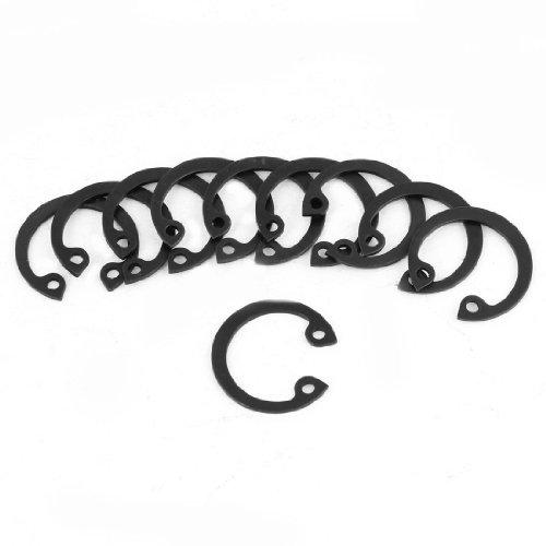 10 Pcs 2mm Dia Hole Circle Internal Retaining Circlip Ring