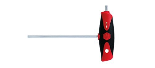 Wiha 334DS Hexagonal Screwdriver with ComfortGrip and Side Drive 2 x 100 by Wiha