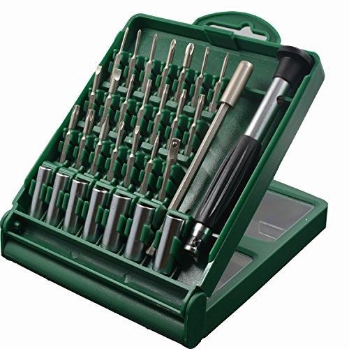 Nanch Precision Tools 31-pieces Micro Precsion Screwdriver Set Phonecomputerlaptop Repair Tool Kit