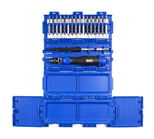 MAXTECH 16580MX Specialty Electronic Screwdriver Set Small BlueBlack