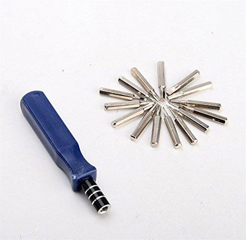 Tosangn 16 in 1 Pocket Precision Screwdriver Bit Set Repair Tool Kit For iPhone iPad
