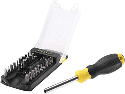 Stanley STHT0-70885 Multi Bit Screwdriver Set 35-piece YellowBlack