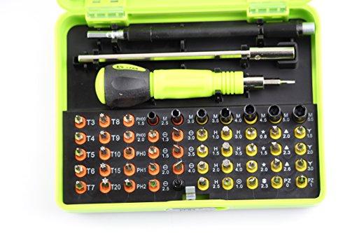 Yosoo 53 in 1 Multi-Bit Repair Tools Kit Set Torx Screwdriver For Electronics PC Laptop Iphone Xbox 360