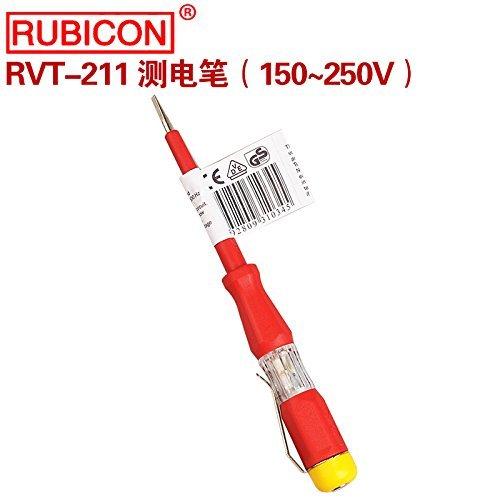 Rubicon RVT-211 AC Voltage Detector Electrician Screwdriver Voltage Test Pencil Screwdriver Voltage Tester