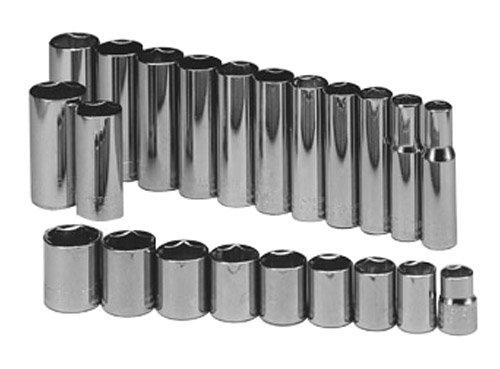 Craftsman 9-34497 22 Piece 6 Point 38-Inch Drive Metric Socket Set