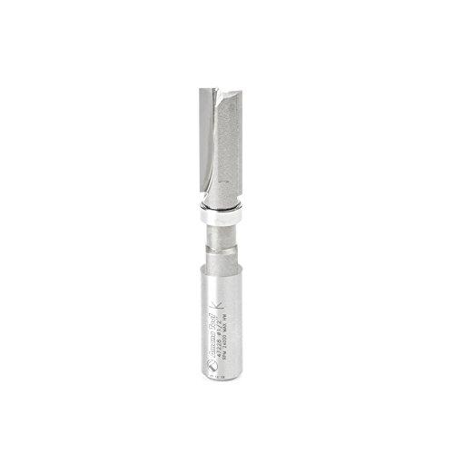 Amana Tool - 47228 Carbide Tipped Flush Trim Plunge Template 12 Dia x 1-14 x 12 Sh