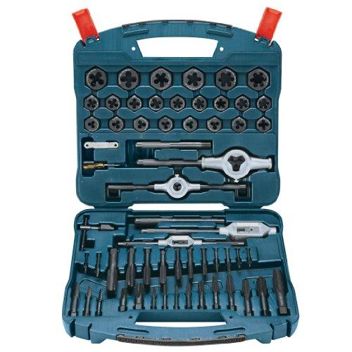 Bosch B44713 58 Piece Tap and Die Set Black Oxide