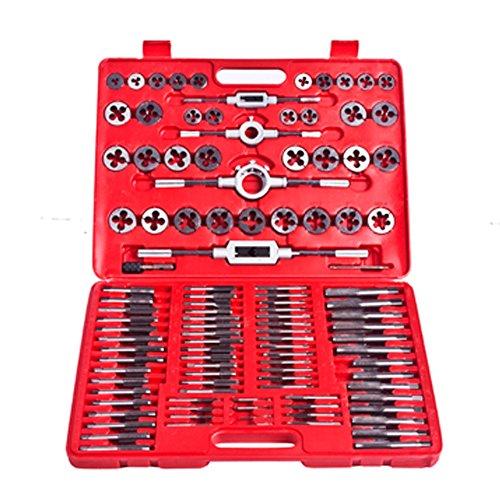 vidaXL 110 pcs Tap Die Tool Set