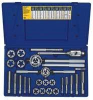 Irwin Industrial Tools 97094 Fractional Tap and Hex Die Set 25-Piece
