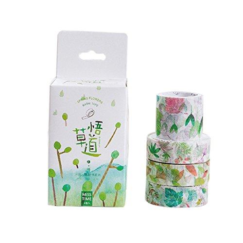 Hestio 31 Combination Set Decorative Washi Tape Sticky DIY Stationery Adhesive Sticker Style e