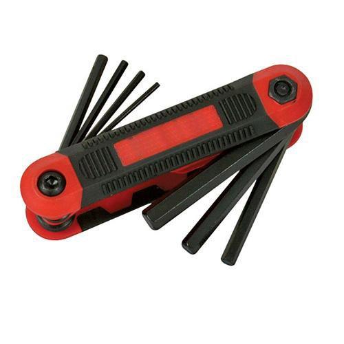8 Piece 15mm-8mm Hex Key Metric Expert Tool - Folding - Allenallan