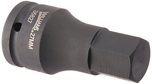 Williams 35827 34-Inch Drive Impact Hex Bit Driver 27mm