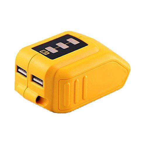 12V20V Max USB Power Source for Dewalt DCB090 Converters Fit for Dewalt 20V 12V Battery