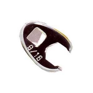 K-Tool International KTI22314 38in Drive 6 Point Crowfoot Flare Nut Wrench 716in