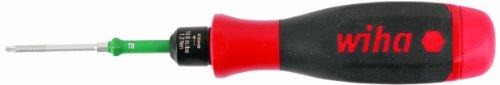 WIHA 29242    Easy Torque Handle 266-InchPound 30Nm with Torx T15 Blade Soft Finish