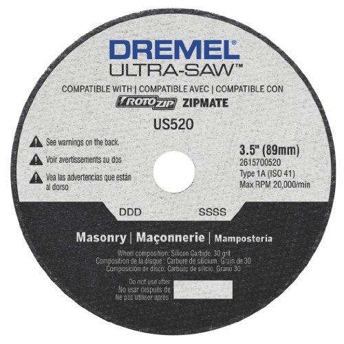 Dremel US520-01 Ultra-Saw 35-Inch Masonry Cutting Wheel