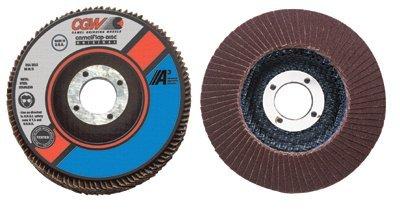 CGW Abrasives Flap Disc A3 Aluminum Oxide Regular - 4-12x78 t27 a cubedreg 80 grit flap disc