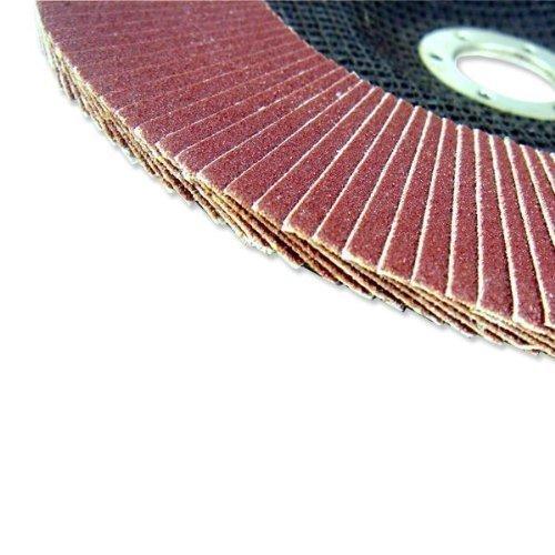 Neiko 80 Grit Flap Disc Aluminum Oxide 7in