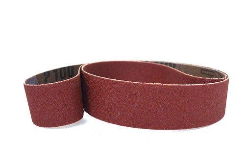 1 X 30 Inch Sanding Belts Aluminum Oxide Cloth Narrow Sander Belts 12 Pack 36 Grit