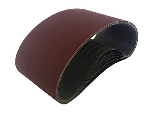 Sanding Belts 4 X 21 Industrial Cloth Aluminum Oxide 6 Pack 100 Grit