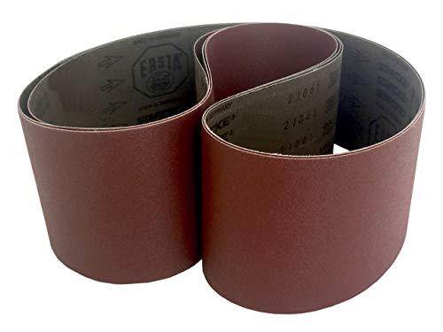 Sanding Belts 4 X 54 Cloth Aluminum Oxide Sander Belts 3 Pack 80 Grit