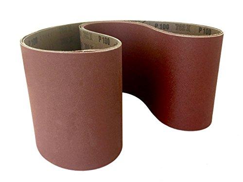 Sanding Belts 6 X 48 Aluminum Oxide Cloth Sander Belts 4 Pack 100 Grit