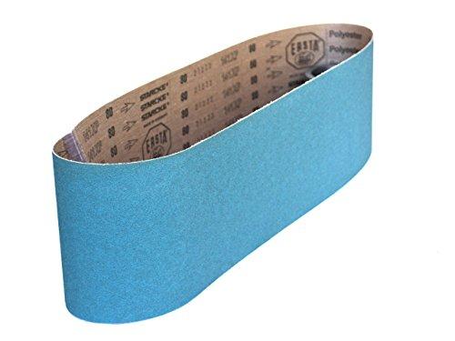 Sanding Belts 6 X 48 Zirconia Cloth Sander Belts 2 Pack 120 Grit