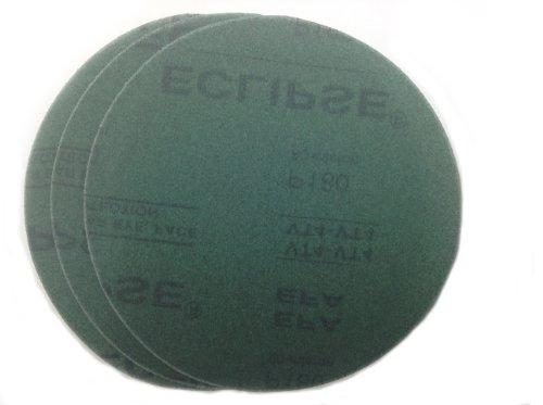 Sungold Abrasives 04823 Assorted Grit 5-Each of 800 1200 1500 2000 Eclipse Film Hook Loop Sanding Discs 3