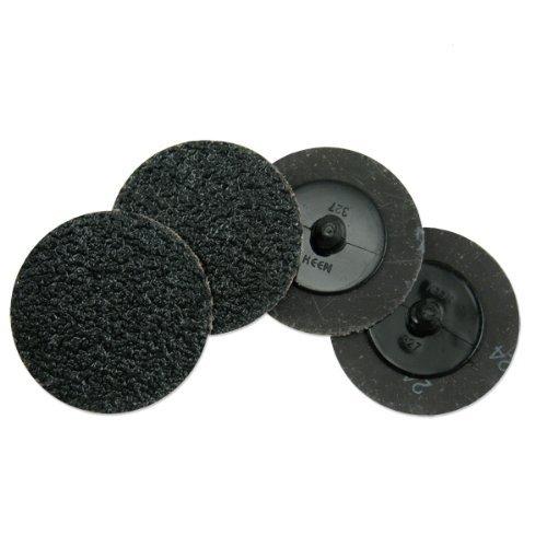 Neiko Roloc Type 3-Inch Silicon Carbide Sanding Disc 60 Grit 10 Pieces