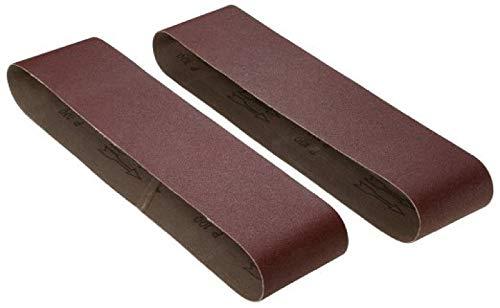 RIKON 50-4080 4 x 36Sanding Belt 80 grit PK2