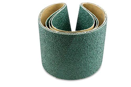 Red Label Abrasives 4 X 36 Inch 36 Grit Metal Grinding Zirconia Sanding Belts 3 Pack