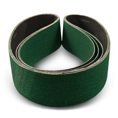 4 X 24 Inch 120 Grit Metal Grinding Zirconia Sanding Belts 3 Pack
