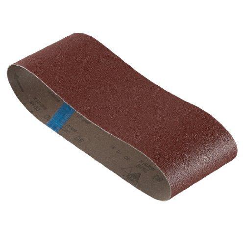 Bosch SB6R080 4-Inch X 24-Inch Sanding Belt Red 80 Grit by Bosch