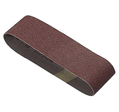 Bosch SB6R100 4-Inch X 24-Inch Sanding Belt Red 100 Grit 3-Pack