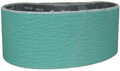 Magnate Z4X24S4 4 x 24 Sanding Belt - Zirconia Alumina - 40 Grit Y Weight 10 BeltsPkg