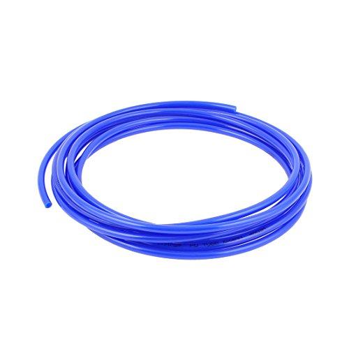 6mm x 4mm Pneumatic Air Compressor Tubing PU Hose Tube Pipe 45m Blue