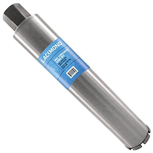 Lackmond SPL Series - Wet Cured Concrete Core Drill Bit - 2 Reinforced Concrete Hole Saw with Segmented Diamond Rim Configuration 1 14-7 Thread Arbor - 50020