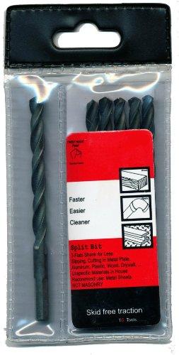 TG Tools A933540476D High Speed Black Oxide Drill Bit 316-Inch 6-Piece