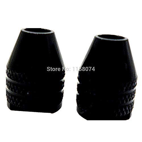 1 lot Pack Of 2 M8 Multi Chuck Keyless M8075mm Keyless Drill Bit Chuck Adapter 03mm-32mm Universal Chucks for Rotary Tools