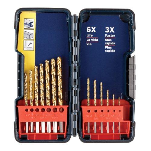 Bosch TI13 Titanium Drill Bit Set 13-Piece