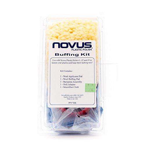 Novus Plastic Polish Buffing Kit