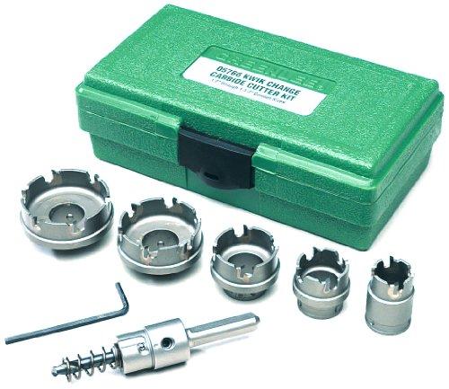 Greenlee 660 Kwik Change Stainless Steel Hole Cutter Kit 7-Piece