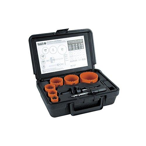 Klein Tools 31902 Bi-Metal Hole Saw Kit 8-Piece