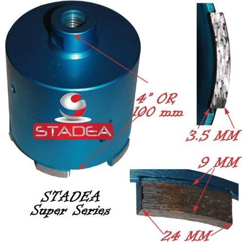 Stadea Concrete Hole Saw Kit Diamond Tipped Core Drill Bit Set for Concrete Masonry Stone Coring Set of 3 Hole Saw 2 12 3 3 14