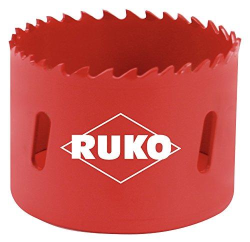 RUKO 106200 High Speed Steel Bi-Metal Hole Saw 8-14