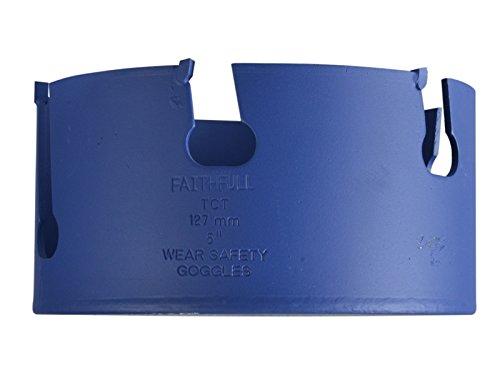 Faithfull Multi Purpose TCT Holesaw 6 Tip 127mm