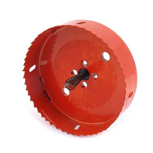 125mm Cutting Dia 37mm Depth Twist Drill Bit Bimetal Hole Saw Cutter