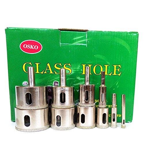 OskoLOT 10 Pcs SET Diamond Hole Saw Drill Bit Set 14 38 12 34 1 1 14 1 38 1 12 1 34 2