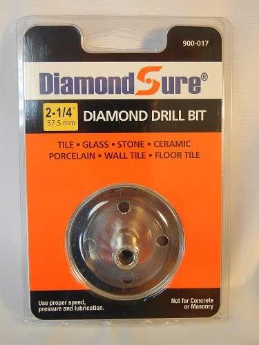 2-14 575 mm DiamondSure Diamond Hole Saw Drill Bit for Glass Tile Granite Ceramic Porcelain Stone
